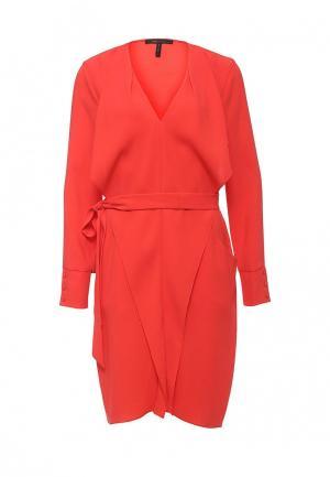 Платье BCBGMaxAzria. Цвет: красный