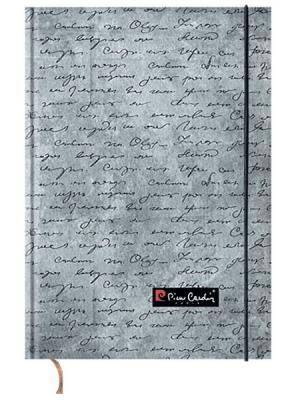 Еженедельник недатированный обложка 7БЦ А5 100 листов Pierre Cardin Manuscript. Цвет: серый