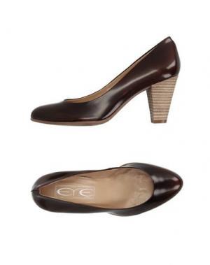 Туфли EYE. Цвет: темно-коричневый
