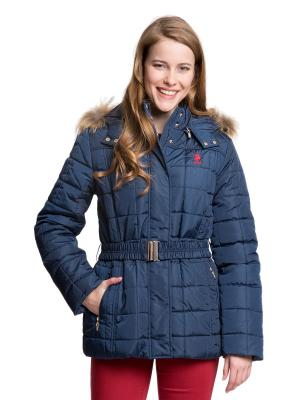 Куртка U.S. Polo Assn.. Цвет: синий