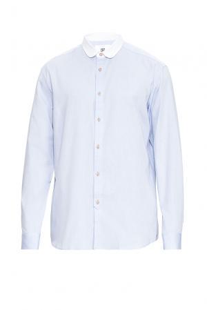 Рубашка из хлопка 170459 Cr7 Cristiano Ronaldo. Цвет: синий