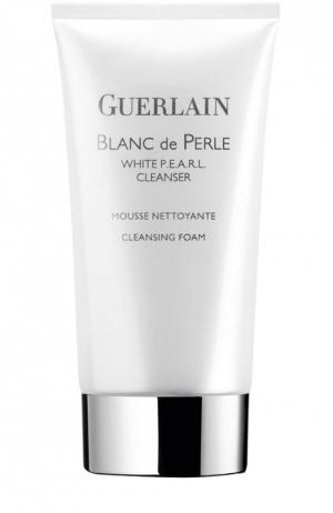 Очищающая пенка Blanc De Perle Guerlain. Цвет: бесцветный