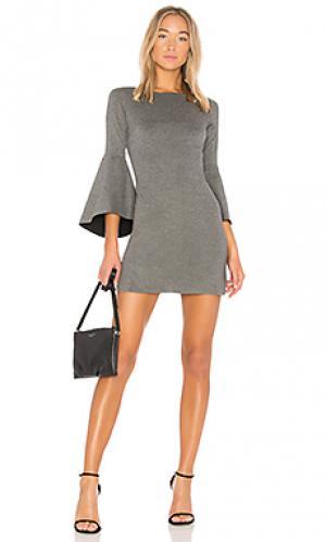 Обтягивающее платье high born Bailey 44. Цвет: серый