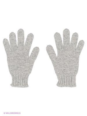 Перчатки United Colors of Benetton. Цвет: серый меланж
