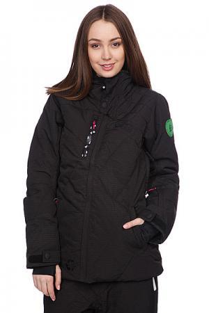 Куртка женская  Camomille (Leader2) Jkt Black Picture Organic. Цвет: черный
