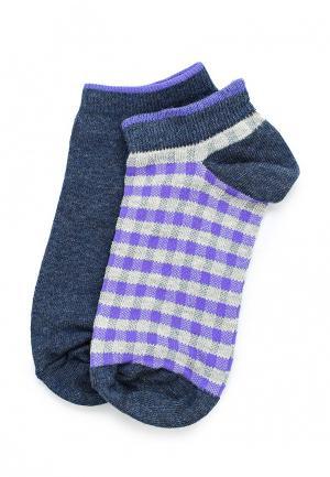 Комплект носков 2 пары OVS. Цвет: синий