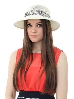 Шляпа Migura. Цвет: белый, черный, серый