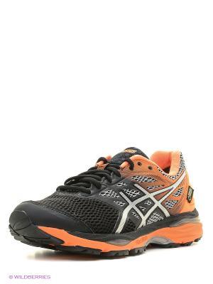 Спортивная обувь GEL-CUMULUS 18 G-TX ASICS. Цвет: черный, оранжевый, серый