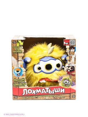 Игрушка Лохматыш с четырьмя глазами Vivid. Цвет: желтый