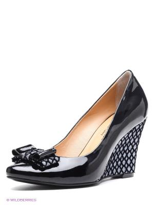 Туфли Klimini. Цвет: черный, серебристый