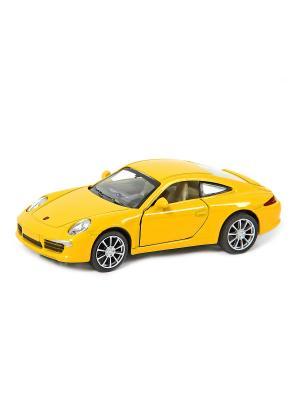 Машина металлическая Porsche 911 Carrera S 997 1:32. HOFFMANN. Цвет: желтый