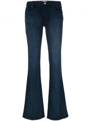 Длинные расклешенные джинсы Paige. Цвет: синий