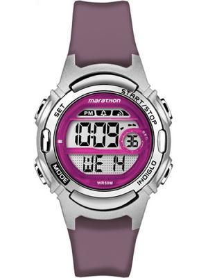 Часы TIMEX. Цвет: сиреневый