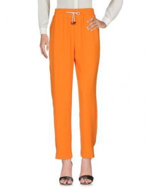 Повседневные брюки AMERICAN VINTAGE. Цвет: оранжевый