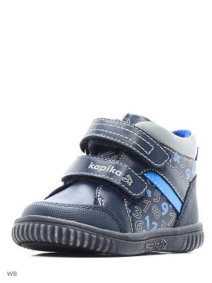 Ботинки Kapika. Цвет: синий, голубой