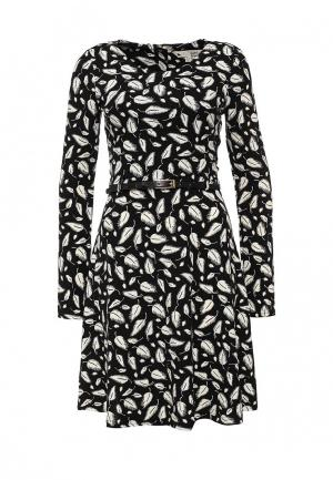 Платье Yumi. Цвет: черно-белый