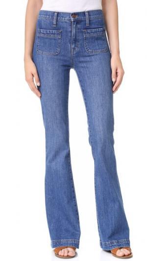 Расклешенные джинсы Flea Market Sailor Edition Madewell. Цвет: lucy