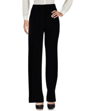 Повседневные брюки ODEEH. Цвет: черный