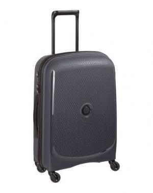 Чемодан/сумка на колесиках DELSEY. Цвет: стальной серый