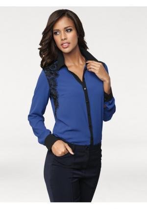 Блузка PATRIZIA DINI. Цвет: королевский синий