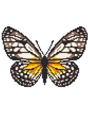 Набор 22х22 (рис/канв., мулине) NITEX. Цвет: коричневый, желтый, черный