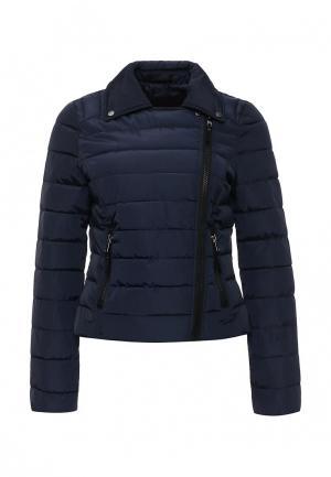 Куртка утепленная Vero Moda. Цвет: синий