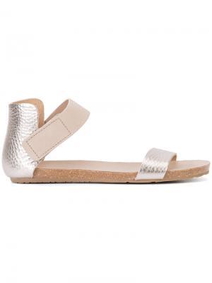 Juncal sandals Pedro Garcia. Цвет: металлический