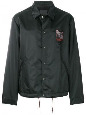 Легкая куртка Alexander Wang. Цвет: чёрный