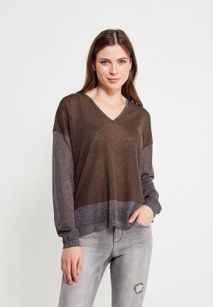 Пуловер Sisley. Цвет: хаки