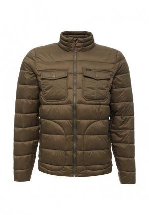 Куртка утепленная Lee. Цвет: хаки