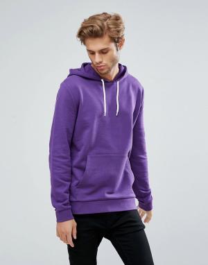 ASOS Фиолетовое худи. Цвет: фиолетовый