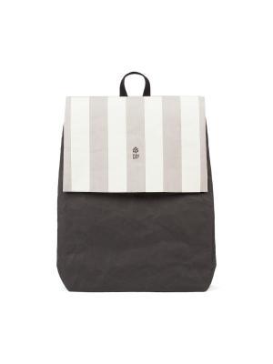 Рюкзак STRIPED FUN PACK KRAFT. Цвет: черный, серый, молочный