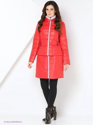 Пальто Black Daffodil. Цвет: красный