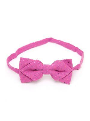 Галстук-бабочка Churchill accessories. Цвет: светло-коралловый, красный, фуксия, розовый, белый