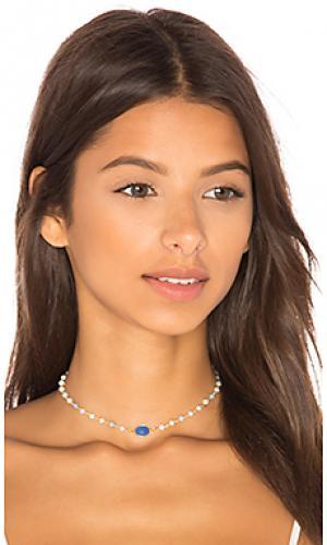 Золотой чокер buried treasures camilla Natalie B Jewelry. Цвет: металлический золотой