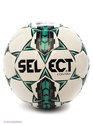 Мяч Select. Цвет: белый, зеленый