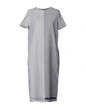 Платье длиной 3/4 COLLECTION PRIVĒE?. Цвет: темно-синий
