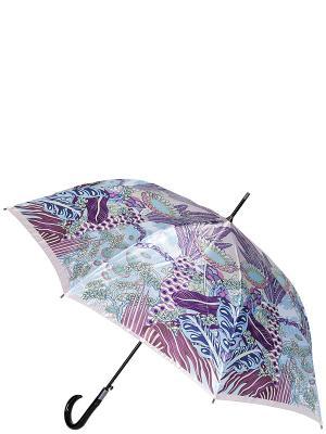 Зонт-трость Eleganzza. Цвет: светло-голубой, сиреневый, фиолетовый