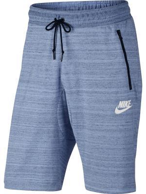 Шорты M NSW AV15 SHORT KNIT Nike. Цвет: серо-голубой