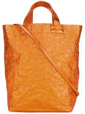 Сумка-шоппер Zilla. Цвет: жёлтый и оранжевый
