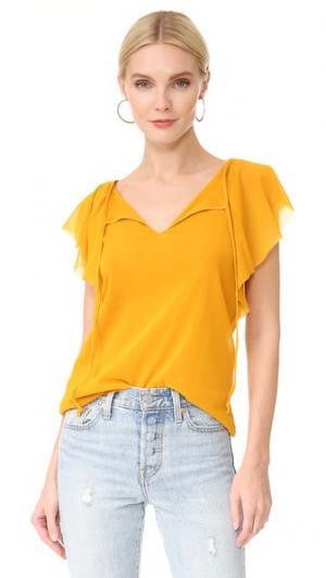 Блуза с короткими рукавами Fuzzi. Цвет: incas