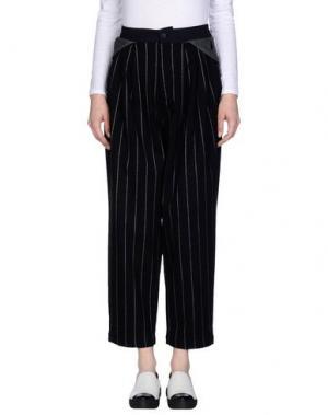 Повседневные брюки GENERAL IDEA. Цвет: черный