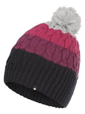 Шапка Icepeak. Цвет: темно-синий, розовый