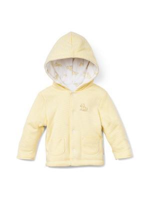 Куртка Little Me. Цвет: желтый