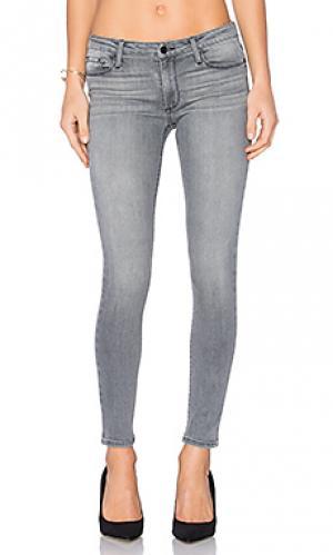 Скинни джинсы со средней посадкой jude Black Orchid. Цвет: none