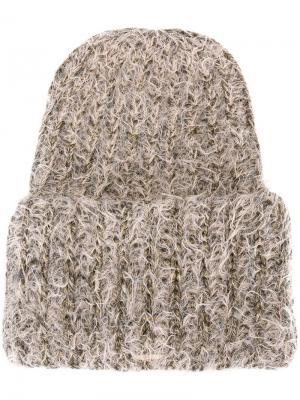 Шапка-бини Beanieone Super Duper Hats. Цвет: телесный