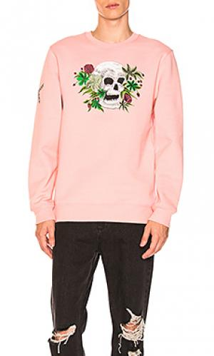 Лодочки hippie skull Stussy. Цвет: розовый