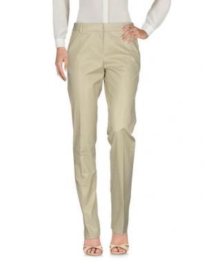 Повседневные брюки JOHN GALLIANO. Цвет: бежевый