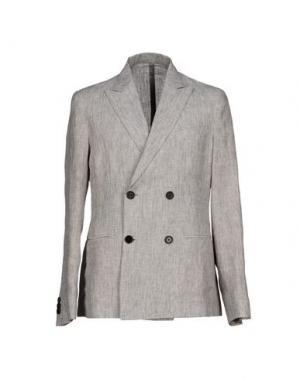 Пиджак MM BY MARIOMATTEO. Цвет: серый