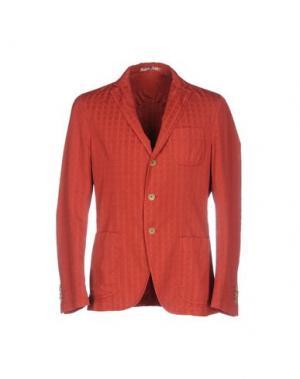 Пиджак PAOLONI. Цвет: кирпично-красный